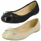 WHOLESALE Ladies Ballerina Shoes / Sizes 3-8 / 14 Pairs / F80167