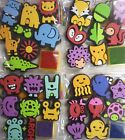 8 Piece Foam Stamp Set (Plus Ink Pad) Monsters, Sea or Forest