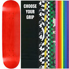 "Skateboard Deck Pro 7-Ply Canadian Maple STAINED RED With Griptape 7.5"" - 8.5"""