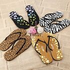 Fashion Casual Women's Summer Beach Flip Flops Thong Flat Sandals TXWD