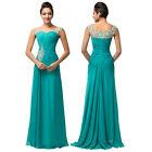 Womens Long Dress Wedding Evening Gown Ball Party Elegant Formal Prom Bridesmaid