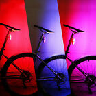 Bike Bicycle Rear Tail USB Rechargeable LED Light Cycling Safety Warning Lamp