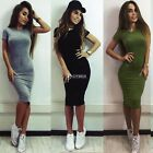 Evening Party Bandage Bodycon Women Cocktail Summer Casual Short Mini Dress DZ81