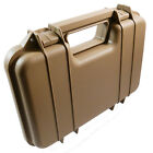 Src Airsoft Hard Small Pistol Carry Case Lockable With Foam Lining 29x19 cms