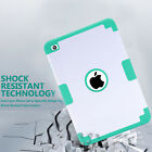 Shockproof Heavy Duty Rubber With Hard Stand Case Cover For iPad Mini 1/2/3/4