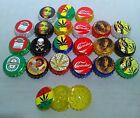Pocket Small Tobacco STASH Grinder 40mm Bob Marley Novelty Print Gift