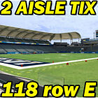 2 AISLE: Miami Dolphins @ Los Angeles Chargers NFL 9/17 118rowE