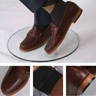 Bass Weejuns Classic Ivy League Soft Pull Up Leather Penny Loafer Shoe Dark Brow