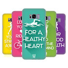 HEAD CASE DESIGNS WORKOUT INSPIRATIONS BACK CASE FOR SAMSUNG GALAXY S8+ S8 PLUS