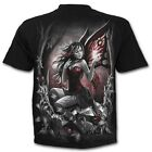 Spiral Direct Companion Fairy Fantasy Wings Unisex Black Short Sleeved Tshirt