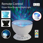Nice Remote Control Ocean Wave Projector 7Color USB LED Nightlight Music Player