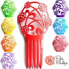 New Large Spanish Flamenco Peineta Hair Comb Lots of Colours 19cm