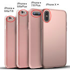 For iPhone X 10 6 6S 7 8 iPhone8 Plus Case Hybrid Hard Cover + Screen Protector фото