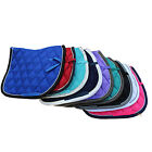 SADDLE PAD, HORSE NUMNAH, Full, Cob, Pony CLOTH Riding soft padded. NEW.
