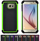 Shock Proof Heavy Duty Armour Hard Case Cover For iPhone Samsung Galaxy LG HTC