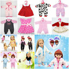 Gift Handmade Clothes Pajamas Toy Party Dress 18 Inch American Girl Doll Skirt D