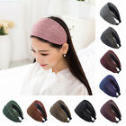 Fashion Women Lady Wide Pleated Hair Band Hoop Headband Hair Accessories