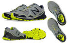 New Balance MT910GY3 Men's Trail Running Shoes, Grey with Yellow