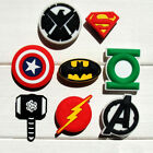 40pcs Avengers PVC Shoe Charms Accessories For Children Kids Cute Party Gift