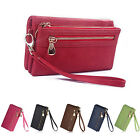 Thboxs Womens Long Retro PU Leather Zipper Wallet Purses Card Holder Case Bag
