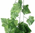 7.7Feet fake rattan fake leaves rattan decorations hanging wall plants