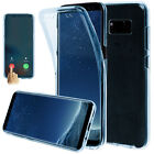 Samsung Galaxy S8/S8 Plus#Shockproof 360°Protect Clear Gel Silicone Case Cover#