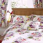 Bouquet Floral Duvet/Quilt Bedding Range With Pillowcases - Single, Double, King