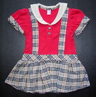 BABY GIRL DRESS, Designer Outfit, Cute Party Dress, Red, Blue Ages 0-3 Years Old