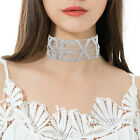 Fashion Women SEXY Crystal Rhinestone Alloy Chain Choker Chunky Necklace Collar