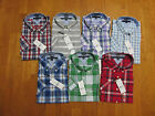 TOMMY HILFIGER CLASSIC OR CUSTOM FIT SHORT SLEEVE BUTTON DOWN SHIRT PLAID NWT