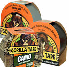 Gorilla Glue Tape - Strong Duct Gaffer Tape Black, Silver Or Camouflage