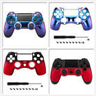 Customized Shadow Cover Top Front Shell for Playstation PS4 Wireless Controller