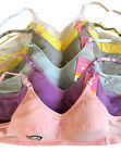 LOT Wire Free Plain Kids Girl Preteen Cotton Junior Training Bra 30A 32A 34A 36A