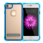 For Apple iPhone 6/6s/7/Plus Slim Clear Tpu Silicon Soft Back Cover Stand Case