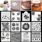Fllower Star DIY Stencil Fondant Cake Craft Molds Birthday Wedding Party Decora