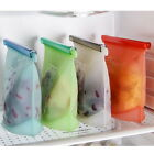 Versatile Cooking  Zipper Reusable Bag Seal Kitchen Food Silicone Fresh Storage