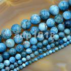 Natural Blue Apatite Round Gemstone Loosee beads 3mm 4mm 6mm 8mm 10mm 12mm 14mm