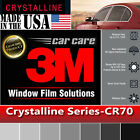 3M Crystalline 70% VLT Automotive Car Truck Window Tint Film Roll Multi Sz CR70