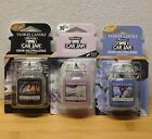 Yankee Cande ULTIMATE CAR JAR Automotive AIR FRESHENERS - 3 Scent Choices