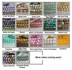 4mm Round Czech Glass Beads 50 Smooth Druks Choose Color
