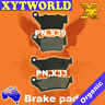 FRONT REAR Brake Pads for YAMAHA TT 600 R 5CH2 1998 1999