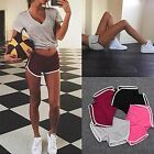 Ladies Girls Elastic Sports Shorts Casual Workout Fitness Short Pants Hot Pants
