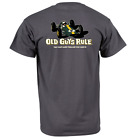Old Guys Rule Classic Racer Charcoal