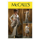 McCall's 6770 Sewing Pattern to MAKE Victorian Jacket Bustle/Capelet Skirt Trs