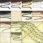 2/4m Open Link Unfinished Bulk Chains Cable Chain Jewellery Necklace Makings YB