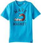 Hurley Boys S/S Baby Cyan Wave Magnet Top Size 5 6 $16