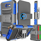Belt Clip Holster Defender Case Cover for Samsung Galaxy J7 Sky Pro / J7 Perx