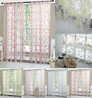 Colorful Floral Tulle Voile Door Window Curtain Sheer Valances Scarf New Style
