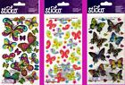 U CHOOSE Sticko BUTTERFLY Stickers BUTTERFLIES INSECTS SPRING SUMMER FLOWERS