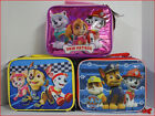 PAW PATROL Insulated LUNCH BOX Bag Tote - Marshall Chase Rubble Skye Everest